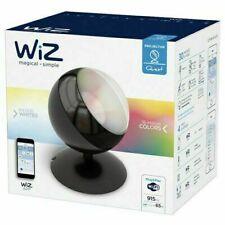 WiZ Tischleuchte Quest schwarz Smarthome WLAN Kompatibel mit Amazon Alexa O4-48