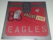 Original Record: The Eagles Double Live - Asylum Records 1980