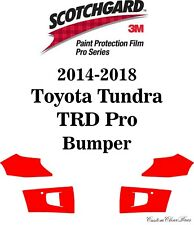 3M Scotchgard Paint Protection Pro Series 2015 2016 2017 2018 Toyota Tundra TRD