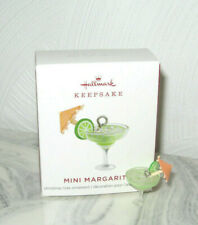 2019 Hallmark Mini Margarita Miniature Christmas Ornament