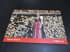 70509 Agnes Reisch Skispringen original signierte Autogrammkarte