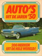 AUTO'S UIT DE JAREN '50 (200 MERKEN UIT DE HELE WERELD) - Kjell Broberg