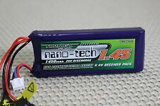 1450Mah 6.6v LiFePo4 LiFe RECEIVER RX PACK LIPO BATTERY PACK USA SHIP