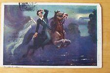 OTTOMAN / BALKANIAN  Postcard  *** Chasing The Fortune / Bandit ***  18. Century