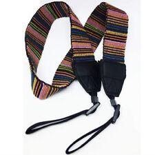 Bohemia Striped DSLR Camera Shoulder Neck Belt Strap For Canon Nikon Sony Pentax