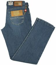 JOKER Jeans NUEVO 2400-0780 authentic bleach W32/L30 Japan-Denim mittelblau