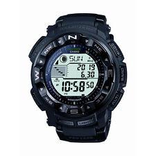 New Casio Men's PRW2500-1A Pro Trek Pathfinder Solar Chronograph Black Watch