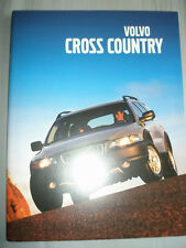 Volvo Cross Country brochure 2001 German text
