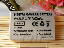 EN-EL5 Replacement Battery 1100mAh For Nikon COOLPIX P520 P510 P500 100