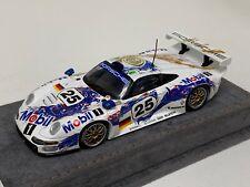1/43 Minichamps Porsche 911 GT1 1996 24 Hours of LeMans #25 Alcantara base A1105