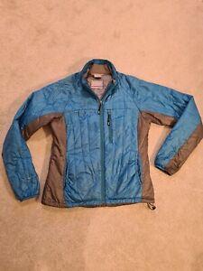 Womans Rab Generator Blue Coat Jacket Pertex Primaloft Size 12