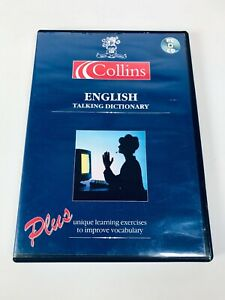 COLLINS ENGLISH TALKING DICTIONARY - INTENSE LANGUAGE OFFICE - PC SOFTWARE