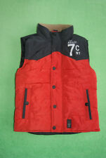 Sevenoneseven red navy blue gilet bodywarmer for boy age 5-6 years 110-116 cm