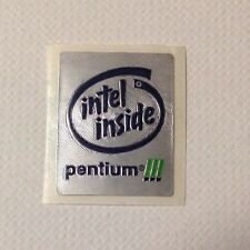 10x NEW INTEL INSIDE PENTIUM !!!  LOGO STICKER/LABEL