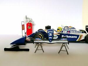 Williams Fw16 1994 Ayrton Senna Nose Cone wing model 1:18 gift idea diorama F1