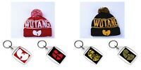 Wu-Tang Clan Beanie Hat with Bobble in 2 Fantastic Colours - FREE KEYRING