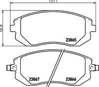 Mintex Front Brake Pad Set MDB2274  - BRAND NEW - GENUINE - 5 YEAR WARRANTY