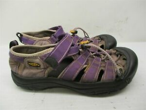 KEEN Sandals Youth Size 5 Hiking Trail River Waterproof Strappy Purple Clogs