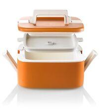 Lunch Box Termico con manico impilabile 0,75 L - Thermal lunch container orange