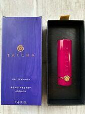 Tatcha Limited Edition Beautyberry Silk Lipstick NEW 3.5g 0.1oz Free Shipping
