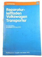 Modell 73 VW Bus T2 Reparaturleitfaden Stromlaufplan 1700