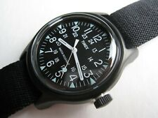 TIMEX for BEAMS JAPAN Exclusive CAMPER Watch 36mm Stainless Steel Black NEW