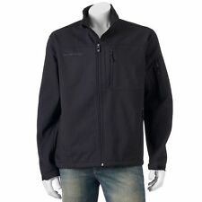 Free Country Men's Jacket Coat Softshell SIZE S Small Black MSRP $120