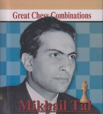 Mihail Tal. Great Chess Combinations. By Alexander Kalinin. NEW BOOK