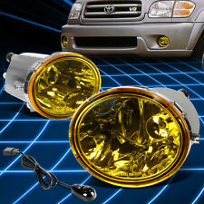 Amber Yellow Driving Fog Light/Lamp+Switch for 2001-2006 Toyota Tundra/Sequoia