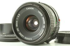 [N Mint / Capuche] Canon Neuf Fd Dnf 35mm f2.8 Support Mf Focus Lens De Japon