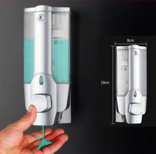 350ml Wall Mount Soap Sanitizer Bathroom Shower Shampoo Dispenser Unique US Cxz