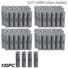 US Lot Garberiel 18650 Battery Flat Top 3.7V Li-ion Rechargeable Batteries