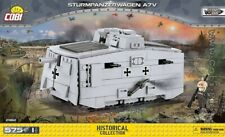 COBI  Sturmpanzerwagen A7V / 2982 / 575 blocks WWI German Tank Small Army ,,,