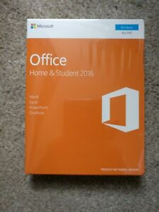 Microsoft Office Home and Student 2016 - 79G04597 - Original, New and Sealed