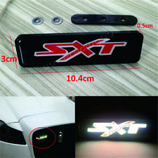 SXT Logo LED Light Car Front Grille Emblem Badge Illuminated Sticker For Dodge