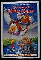 Manifesto El Aventuras Por Blanco Y Bernie El Rescuers Walt Disney M274