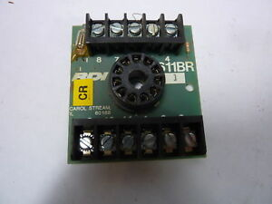 RDI 611BR Relay Socket 11 Pin Octal Base ! WOW !