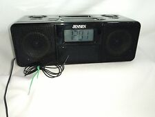 Jensen Universal Docking Station/Alarm Clock with Built-in Speakers for iPod