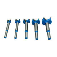 5pc Drill Bit 15-35mm Wood Boring Drill Bits Hole Saw Drilling Cutter #
