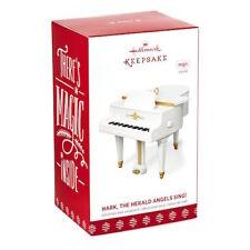 2017 Hallmark Keepsake MAGIC Ornament- Piano Hark, The Herald Angels Sing!  NIB