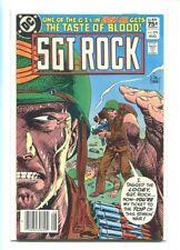SGT. ROCK #379 HI GRADE DRAMATIC KUBERT COVER CANADIAN PRICE VARIANT