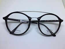 RAY BAN LightRay RB7111 occhiali da vista rotondi ultraleggeri nero unisex