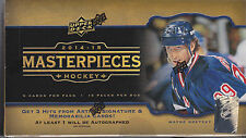 2014/15 UPPER DECK MASTERPIECES HOCKEY HOBBY BOX 3 HITS PER BOX FACTORY SEALED