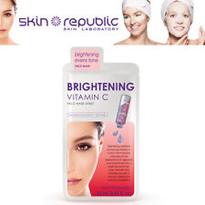 Skin Republic Brightening Even Tone Vitamin C Moisture Cara Skin Mask Sheet 25ml