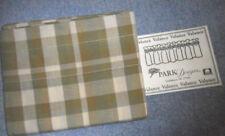 """Park Designs Thatcher Green Plaid Cotton Rod Pocket Valance 72""""W x 14""""L"""