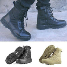 Men Military Tactical Combat Boots Winter Hunting Hiking Camoflage Army Shoes UK