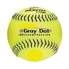 "(1) Worth 12"" Protac Gray Dot C-Lok 375 Compression Softball Fast Ship! Dd9"
