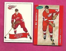 2 X PARKHURST WINGS GORDIE MR HOCKEY HOWE  NRMT-MT  CARD  (INV# C0726)