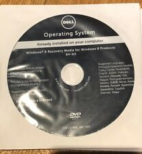 Dell Windows 8 Recovery Media For Windows 8 Prod 64-bit DVD