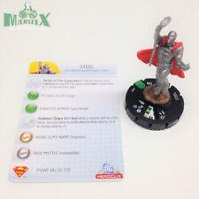 Heroclix Superman set Steel #018 Uncommon figure w/card!